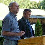 Alleanza contro l'Autostrada Alemagna, firma Memorandum