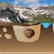 Permafrost: cambia la temperatura della roccia sotterranea