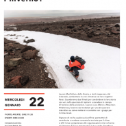 """""""Cosa faresti senza inverno?"""" Patagonia Cortina 22 gennaio ore 20"""