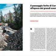 Il paesaggio ferito di Cortina all'epoca dei grandi eventi, Altreconomia dic.020