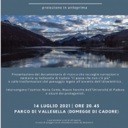 """Proiezione docu-film """"Dove nuotano i caprioli"""", 14 luglio, parco di Vallesella, nell'ambito di """"Aspettando Boschi di Carta"""""""